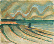 Wangerooge, 1920, watercolour on paper, 42 x 51,4 cm