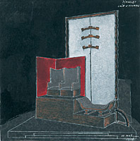 Set design for Shakespeare´s Hamlet